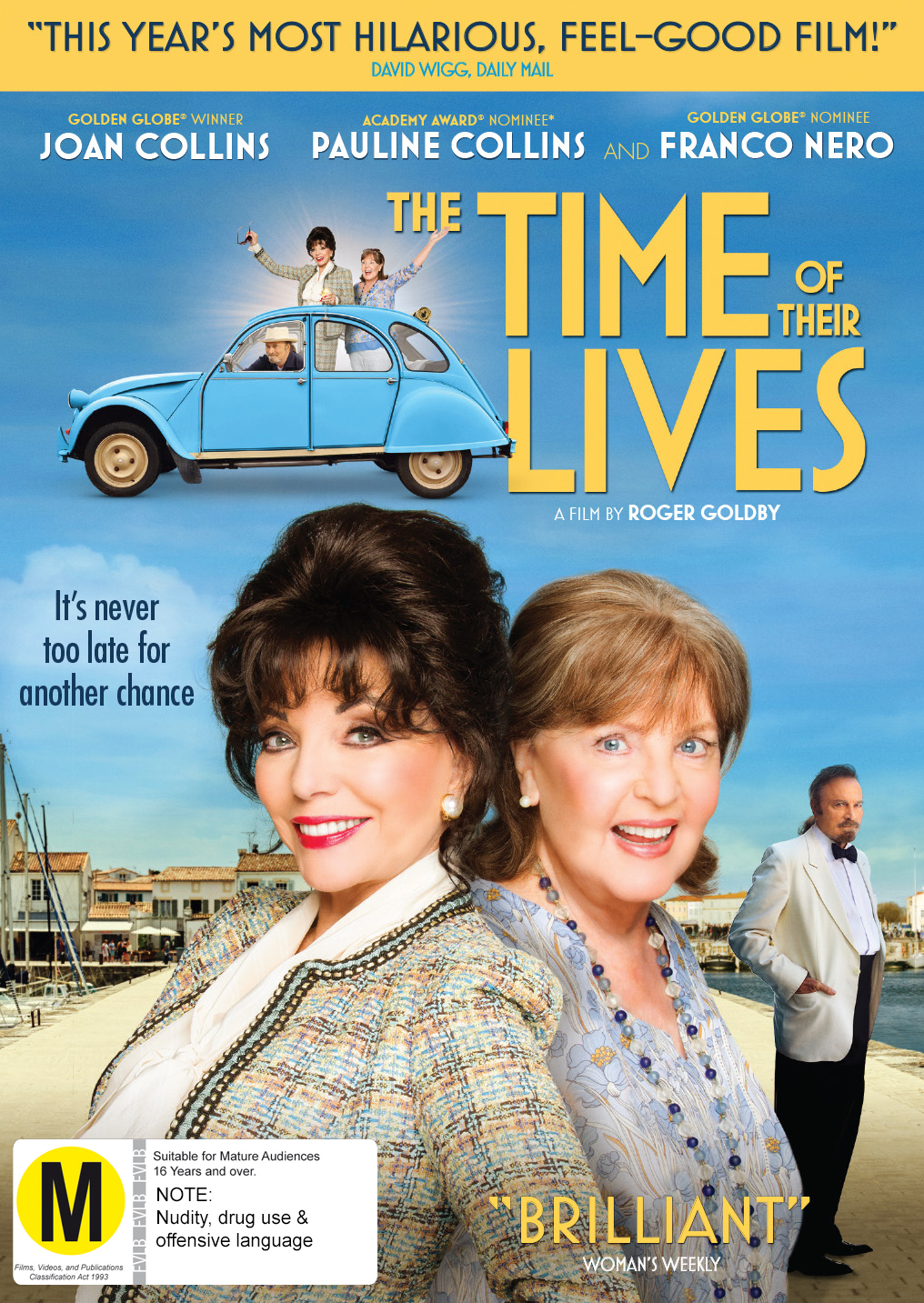 The Time Of Their Lives on DVD image