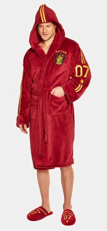 Harry Potter: Hooded Bathrobe - Quidditch