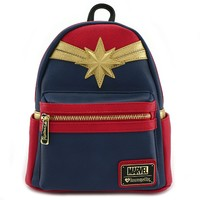 Loungefly: Captain Marvel - Cosplay Mini Backpack