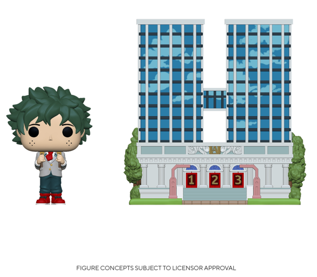 My Hero Academia: Deku & UA High School - Pop! Town Figure
