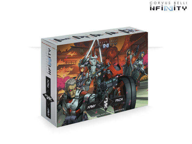 Infinity: JSA Sectorial Army Pack