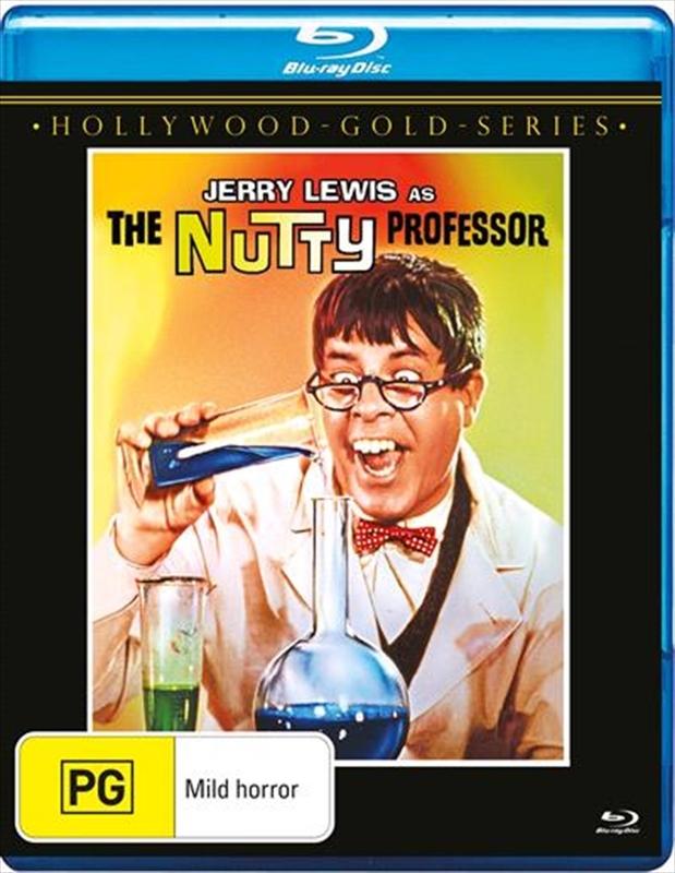The Nutty Professor on Blu-ray