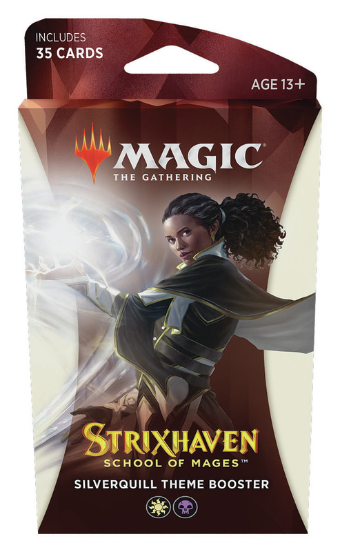 Magic the Gathering: School of Mages Theme Booster- Silverquill