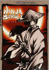 Ninja Scroll Vol. 1:  Dragon Stone + Collector's Box on DVD