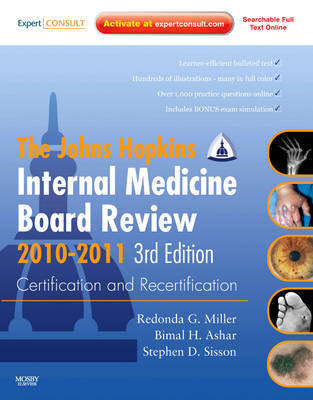 Johns Hopkins Internal Medicine Board Review 2010-2011: Certification and Recertification by Bimal Ashar