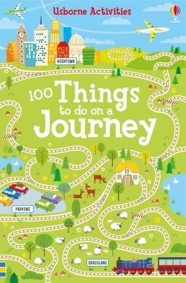100 Things To Do on a Journey by Rebecca Gilpin image