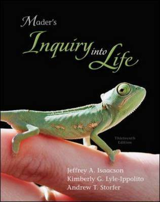 Inquiry into Life by Sylvia S Mader