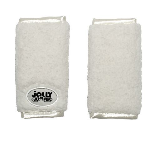 Jolly Jumper Soft Straps for Car Seat (Plush Cream)