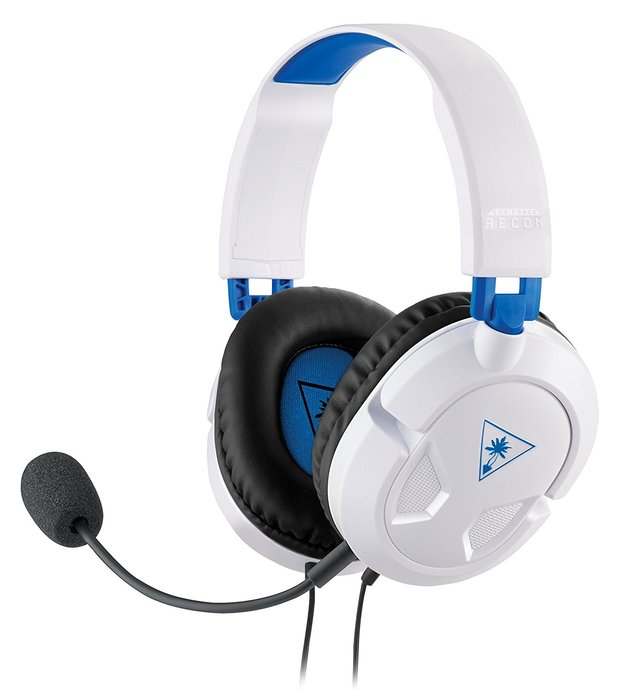 Turtle Beach Ear Force Recon 50P Stereo Gaming Headset - White for PS4