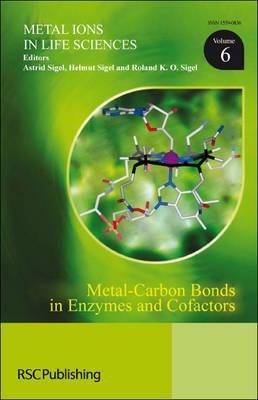 Metal-Carbon Bonds in Enzymes and Cofactors