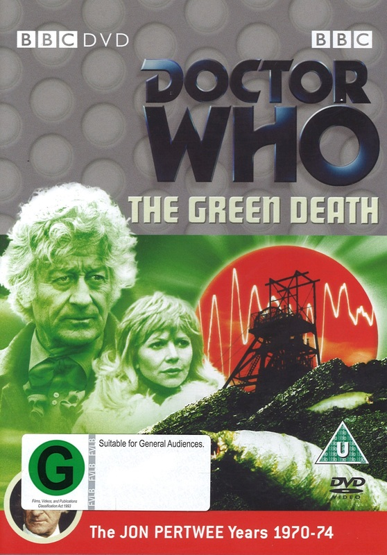 Doctor Who: The Green Death on DVD