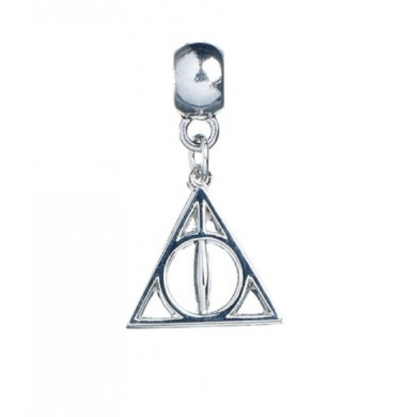 Harry Potter: Silver Plated Deathly Hallows Slider Charm