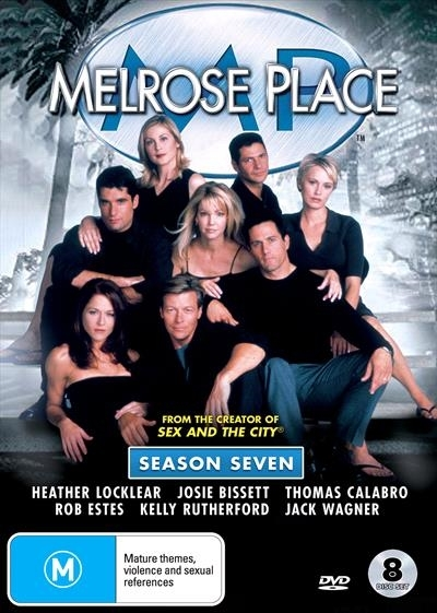 Melrose Place: Season Seven on DVD