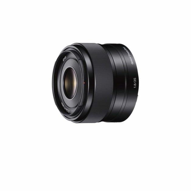 Sony SEL35F18 35mm f/1.8 Prime Lens - Black