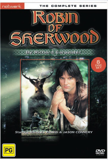 Robin of Sherwood: Complete Series (8 Disc Box Set) on DVD