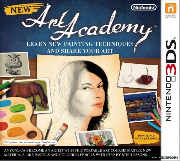 New Art Academy for 3DS