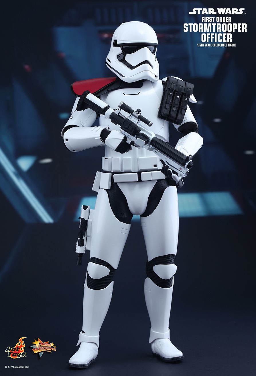"Star Wars: The Force Awakens - 12"" First Order Officer Figure image"