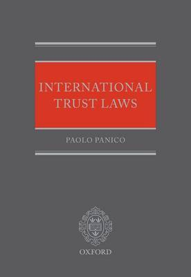 International Trust Laws by Paolo Panico image