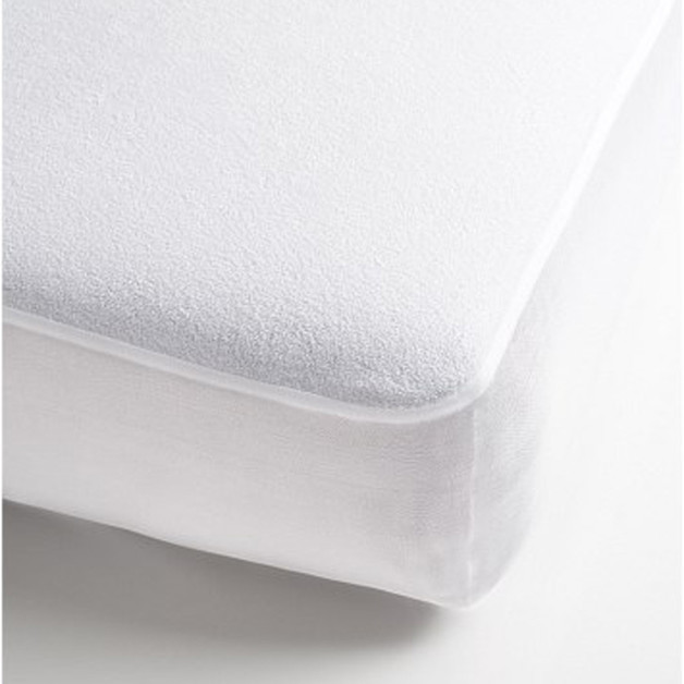 Brolly Sheets Towelling Mattress Protector - King Single