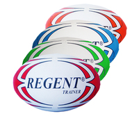 Silver Fern REGENT Trainer Rugby Ball (Size 5)