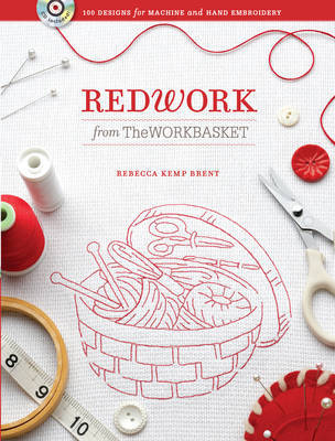 Redwork from The Workbasket by Rebecca Brent image