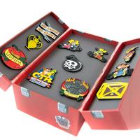 Crash Team Racing Toolbox Pin Badge Set image