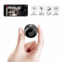 Wireless Mini Security Camera Wide Angle HD 1080P