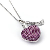 The Carat Shop: Harry Potter Sterling Silver Love Potion Necklace Embellished with Swarovski Crystals