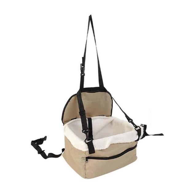 Ape Basics: Foldable Soft Pet Travel Box Dog Car Seat