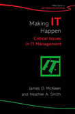 Making IT Happen by James D McKeen