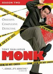 Monk - Season 2 (4 Disc Set) on DVD