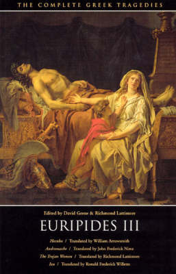 The Complete Greek Tragedies: v.5: Euripides: Pt.3 by * Euripides