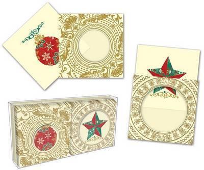 Holiday Motif Gift Enclosures