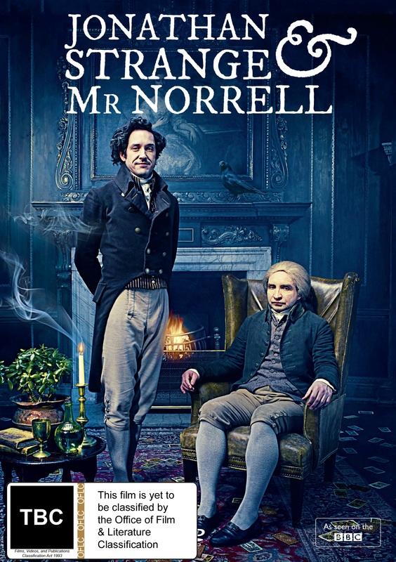 Jonathan Strange & Mr Norrell on DVD