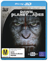 Dawn of the Planet of the Apes 3D on Blu-ray, 3D Blu-ray