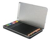 Jasart Coloured Pencil Tin (12 piece)