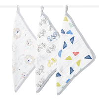 Aden + Anais: Washcloths - Leader of the Pack (3 Pack)