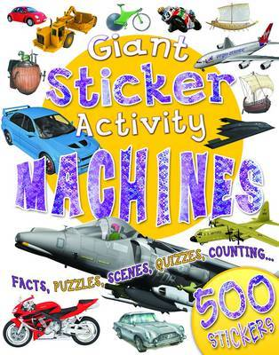 Giant Sticker Activity Machines by Miles Kelly image