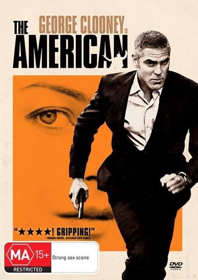 The American on DVD image
