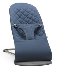 Baby-Bjorn: Bouncer Bliss - Ergonomic Bouncer (Midnight Blue Cotton)