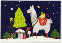 Peter Pauper: Boxed Christmas Cards - Llama (20 Pack)