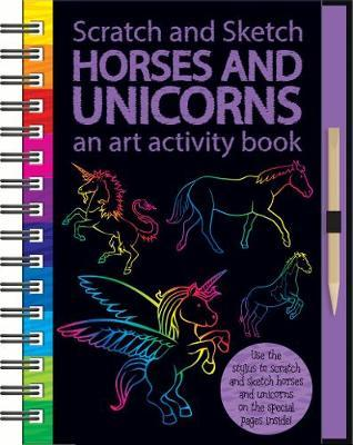 Scratch & Sketch: Activity Book - Unicorns