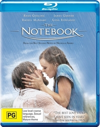 The Notebook on Blu-ray