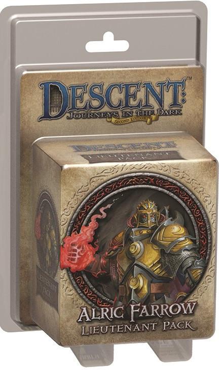 Descent: 2nd Edition - Lieutenant (Alric Farrow)