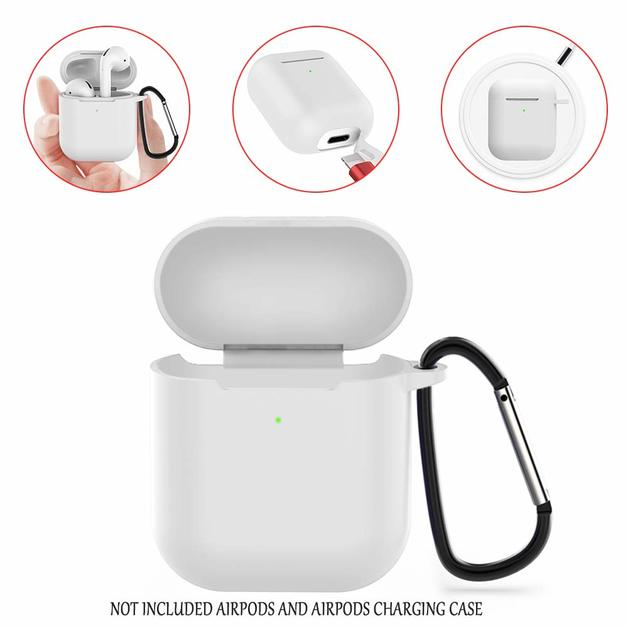 Slim Case for AirPods 2019 Wireless - White