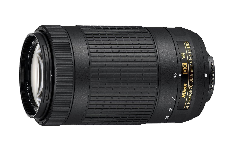 Nikon: AF-P DX NIKKOR 70-300mm (F/4.5-6.3G ED VR) - ED VR Lens for Nikon DSLR Cameras image
