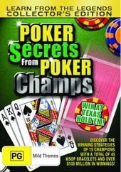 Poker Secrets From Poker Champs - Collector's Edition on DVD