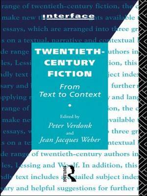 Twentieth-Century Fiction by Peter Verdonk image