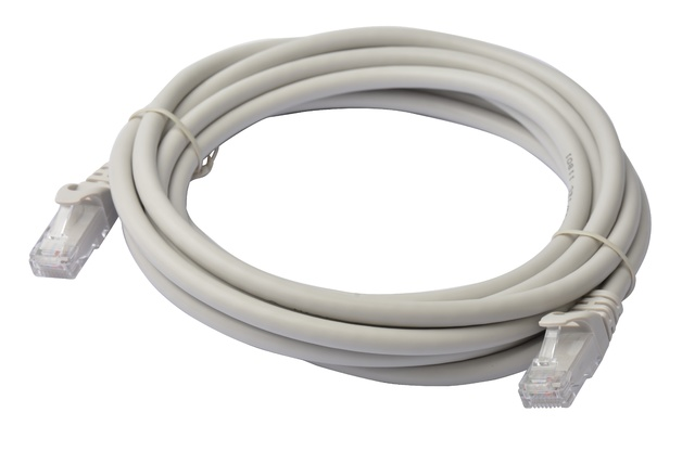 8ware: Cat 6a UTP Ethernet Cable Snagless - 3m (Grey)