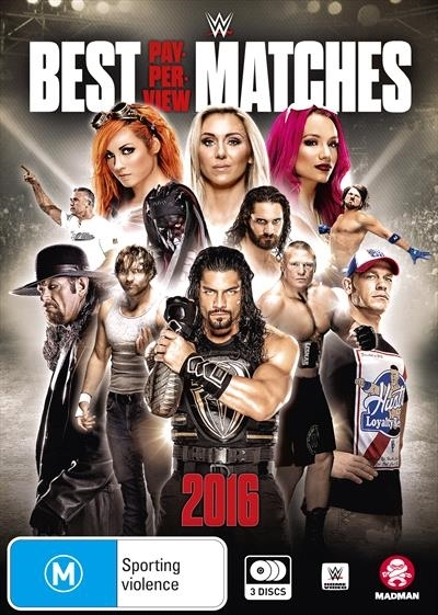WWE: Best PPV Matches 2016 on DVD